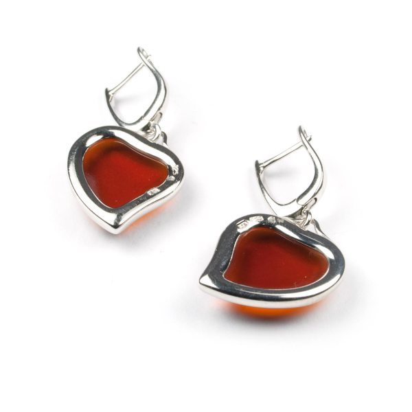 silver-earrings-with-cherry-natural-baltic-amber-two-hearts-2