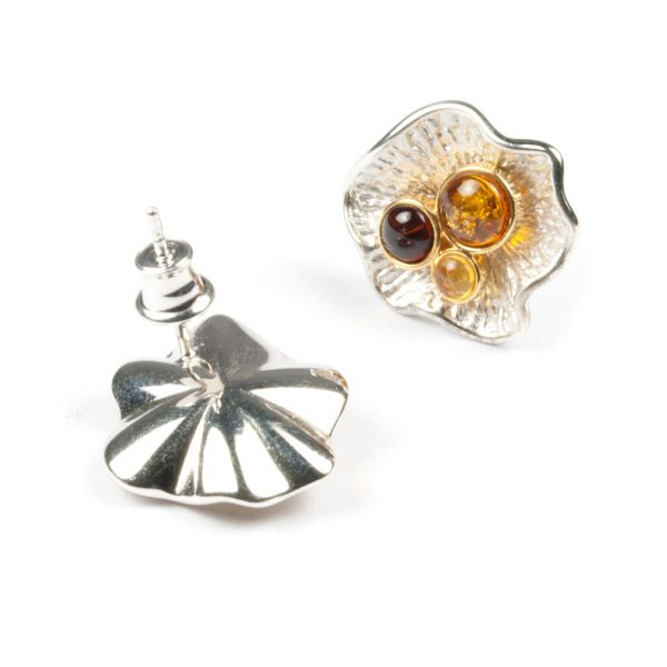 silver-earrings-with-natural-baltic-amber-pearls-2
