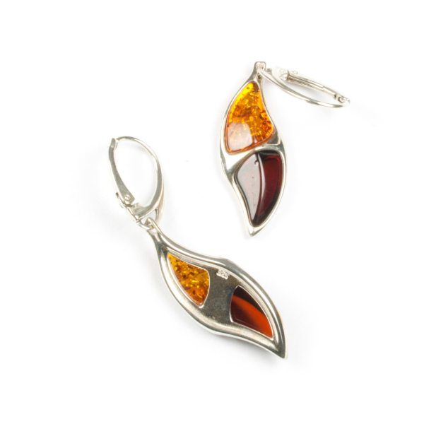 silver-earrings-with-natural-cognac-and-cherry-amber-camea-2