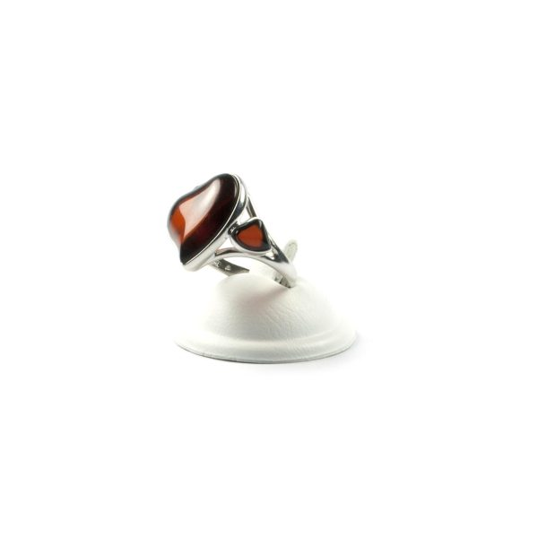 silver-ring-with-natural-baltic-amber-two-hearts