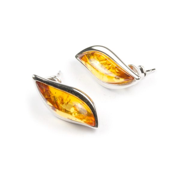 silver-earrings-with-natural-baltic-amber-kecha-cognac