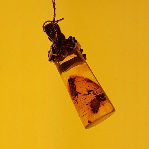 silver-pendant-with-natural-baltic-amber-with-insect-inclusion-close