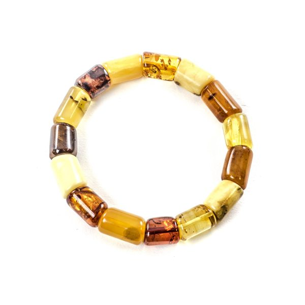 Colored Amber Bracelet Top