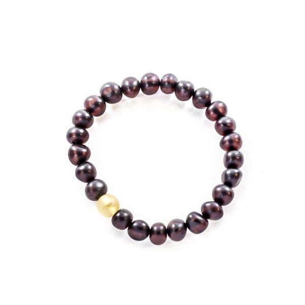 Cherry Beads Amber Bracelet Top