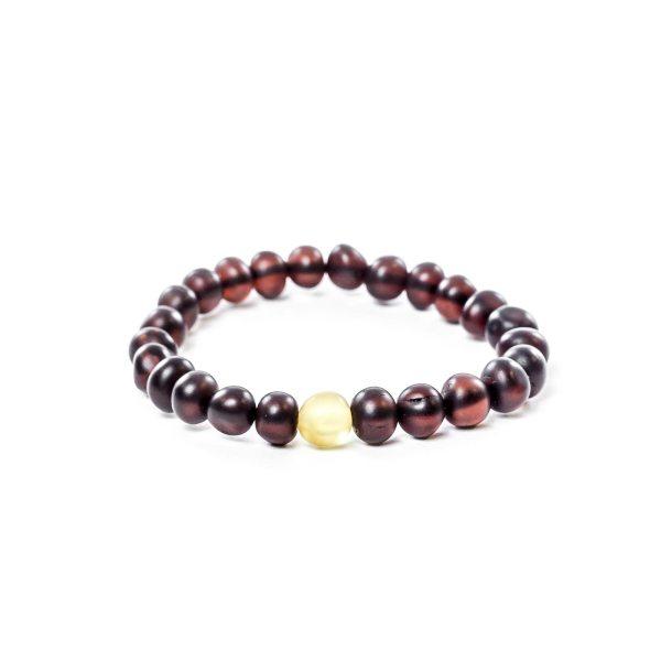 Cherry Beads Amber Bracelet