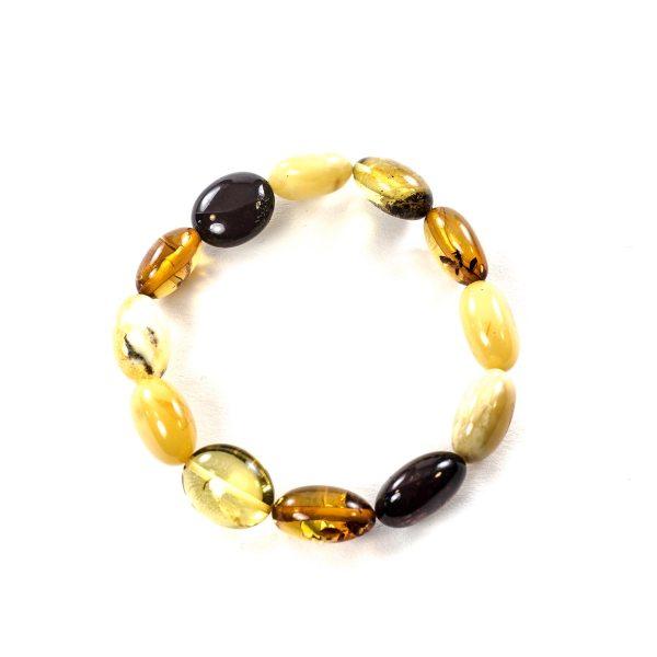 Color beads bracelet top