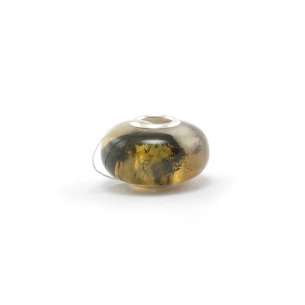 Mixed Color Amber Charm Bead Side