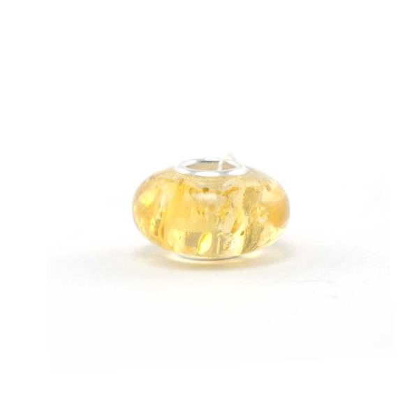 Amber Charm Green Bead Side 2
