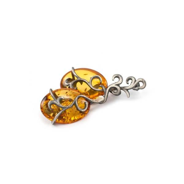Vinatage Style Azure Earrings 2