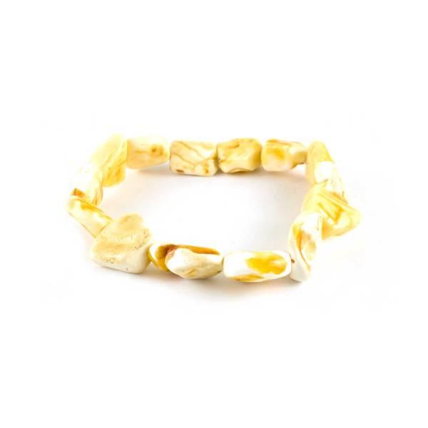 Healing Amber Bracelet made from Unpolished Amber