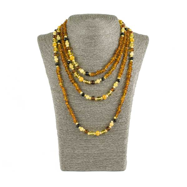 Long Amber Necklace
