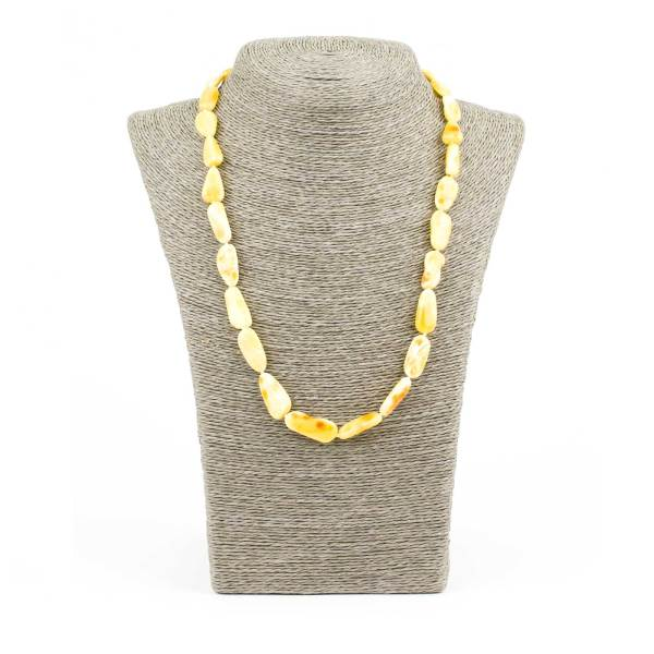 Bright Butterscotch Amber Necklace