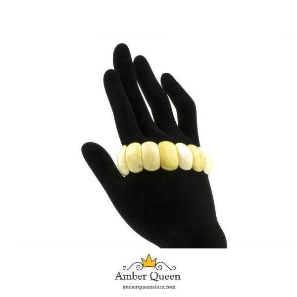 Butterscotch Amber Bracelet on Hand