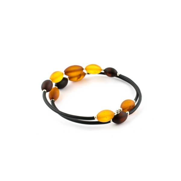 String Bracelet With Amber