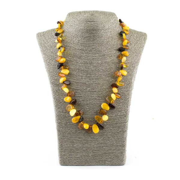 Colored Amber Necklace