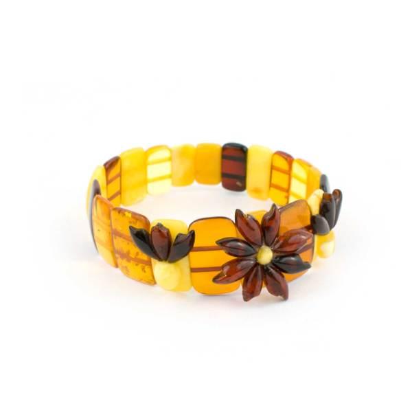 Multicolor Amber Bracelet