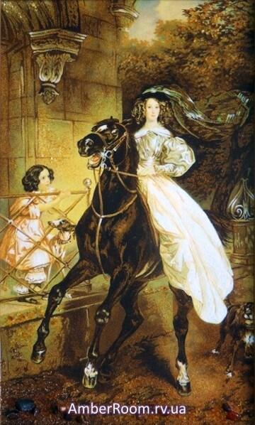 Карл Брюллов - Всадница, 1832. Купить репродукцию картины ...