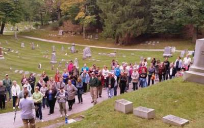 Fall Cemetery Tours