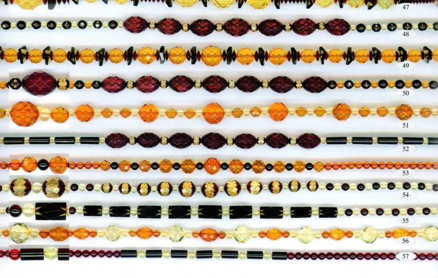 47-57 gintariniai karoliai