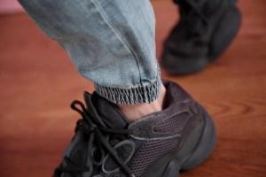 牛仔束口褲5
