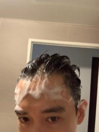 洗髮假掰照