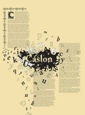 Caslon - specimen layout 4