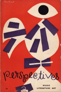 Book cover design by Paul Rand