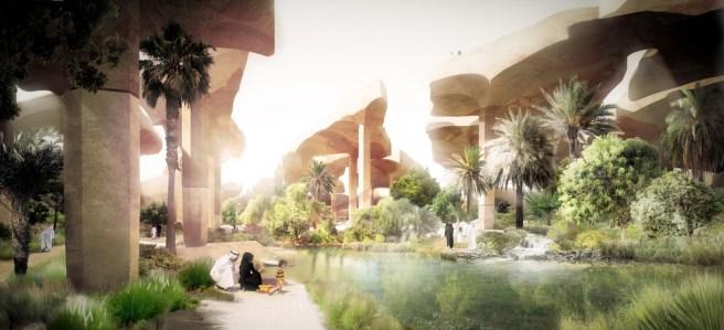 Al Fayah Park, in Abu Dhabi