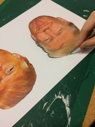 Cutting out the masks