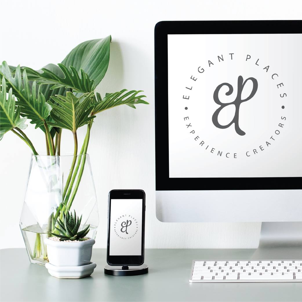 Elegant Places logo design