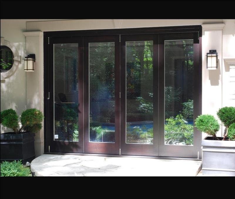 Panoramic Bi Folding Doors Amberwood Doors Inc