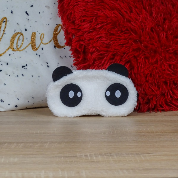 Masque de Sommeil Panda Curieux
