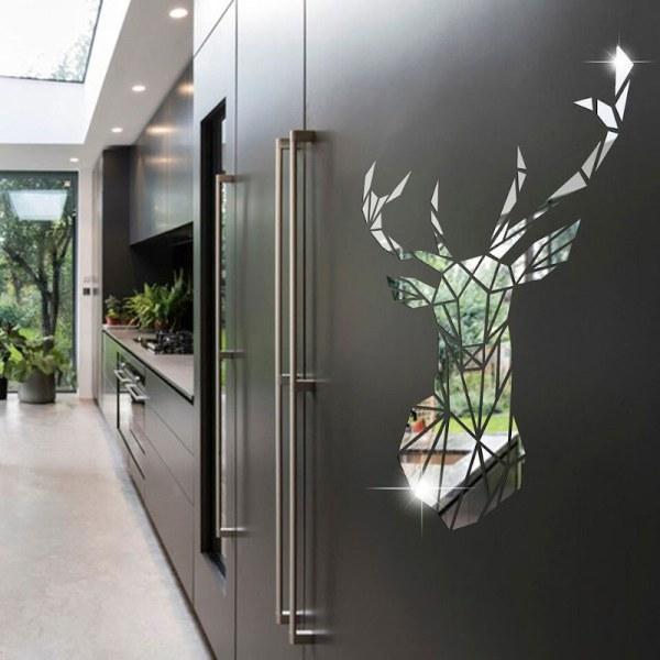 Miroir décoratif cerf