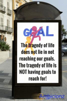 Ambicionz - Goals Quote