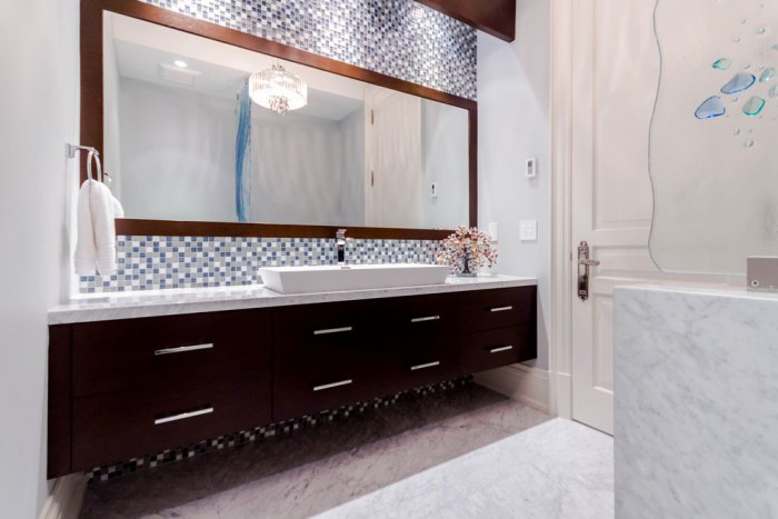 Chateau Inspired Custom Home - Powder Room