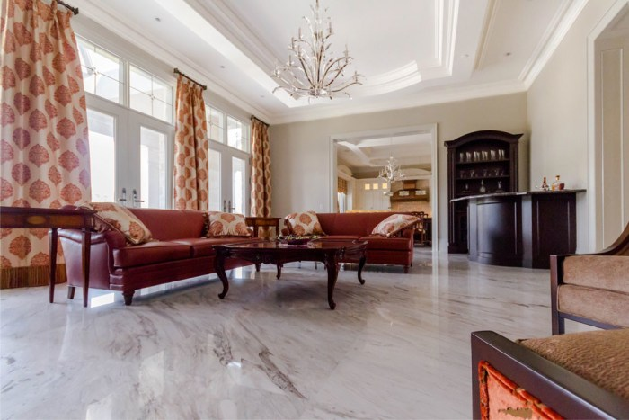 Chateau Inspired Custom Home - Family Room