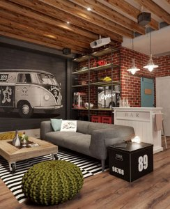 THE MAN CAVE: CLAIM YOUR SPACE AND MAKE IT YOURS