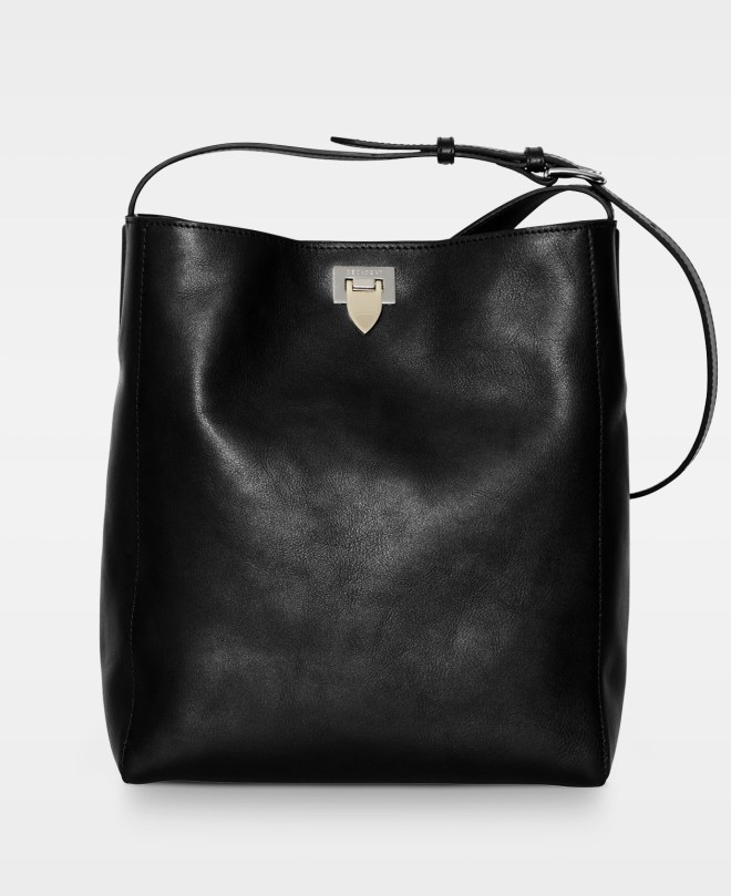 Åpen shopper cross body - Decadent 429 cross body vegital Farge: sort eller cognac