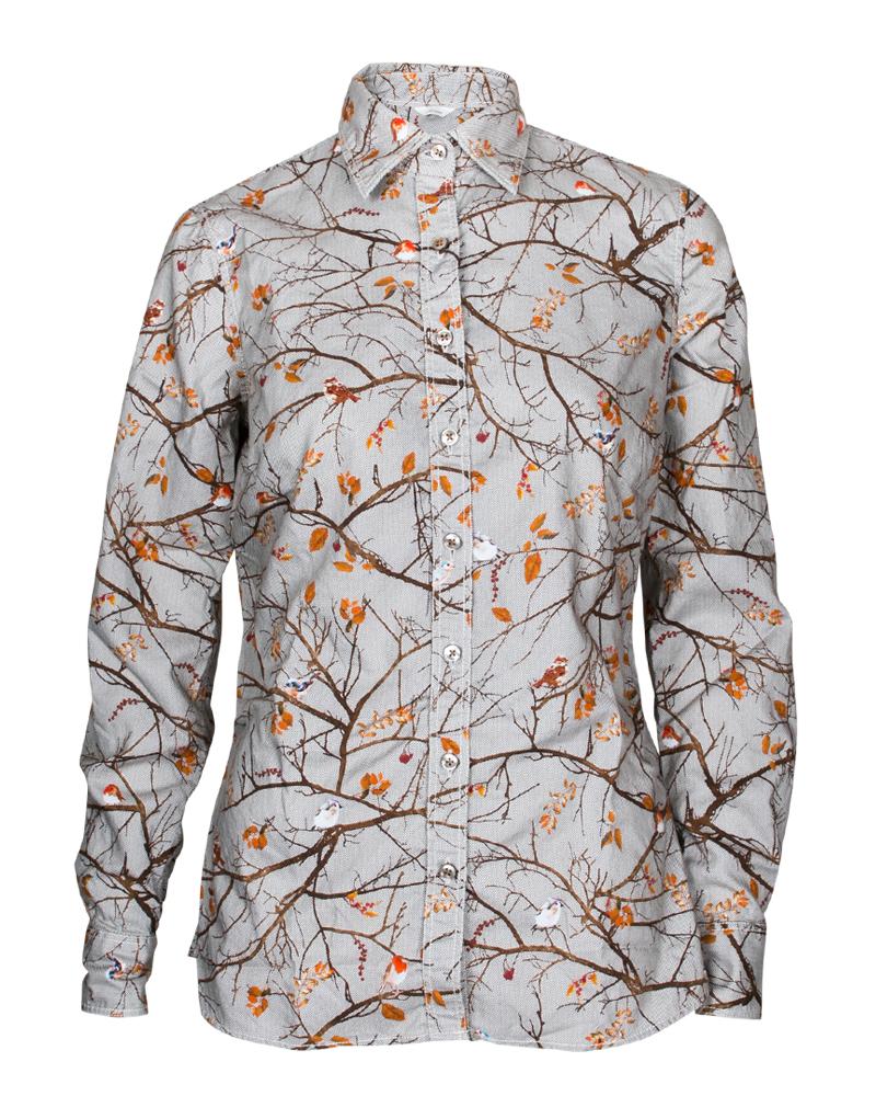 Mønstret bluse Stenstrøms - 372215 6456