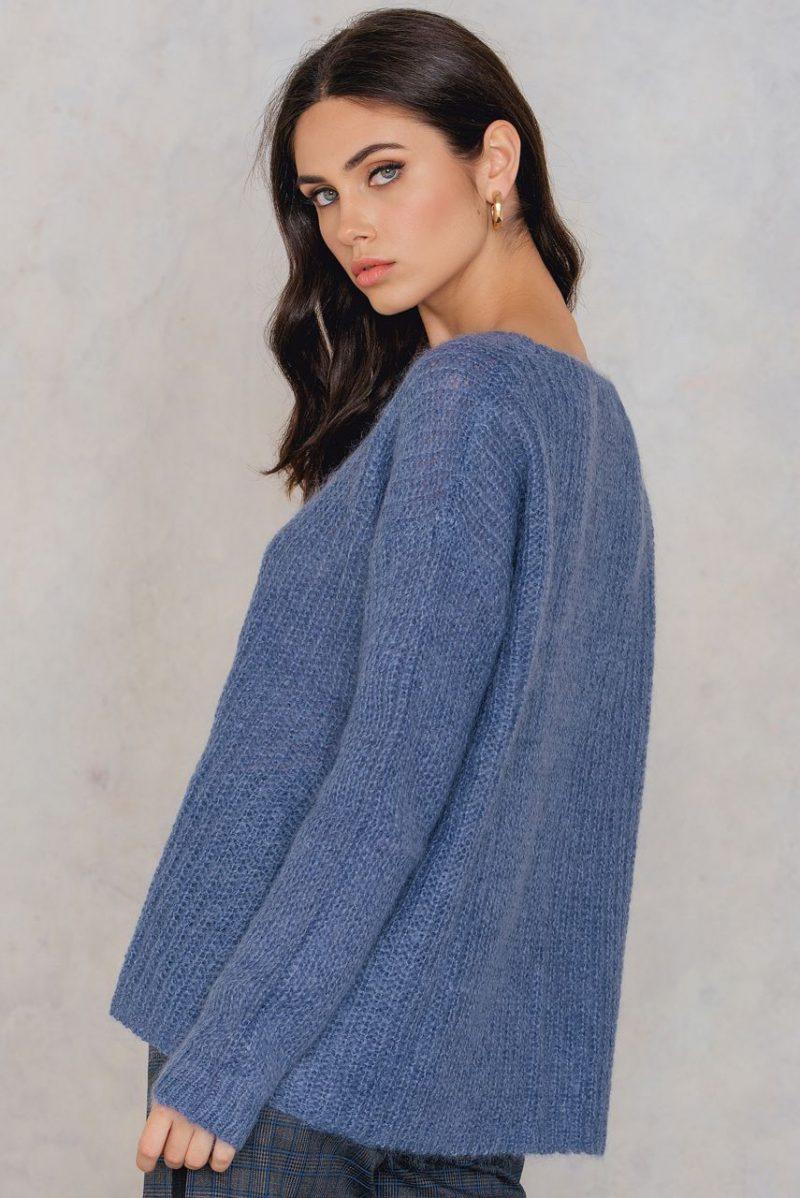 Atlantic blue genser Gestuz - hally pullover 1432