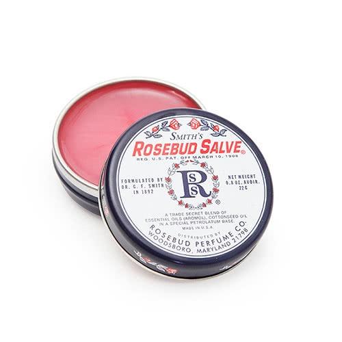 Leppepomade 'Rosebud salve' boks