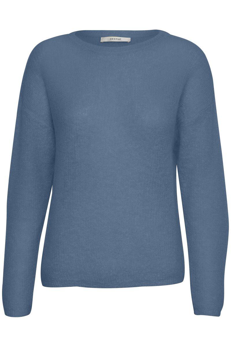 Blå genser Gestuz - molly pullover 1917