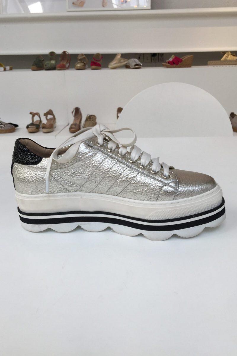 Hvit sneacker (ikke sølv) Laura Bellariva - 1001