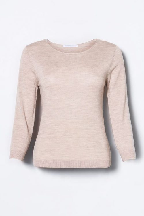 Taupe melange evening sweater Cathrine Hammel - 116.118 evening sweater