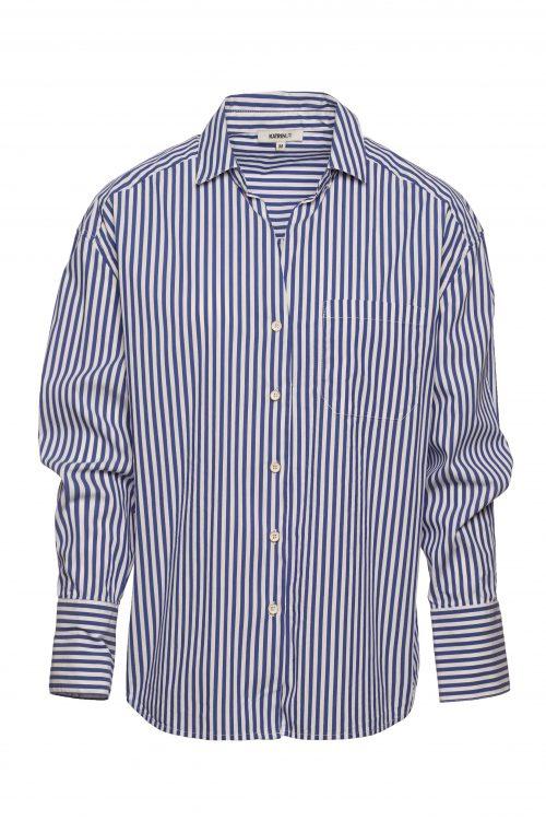 Blåhvitstripet skjorte Katrin Uri - 440 secilia shirt