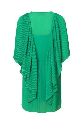 Grønn kjole med volang By Malene Birger - philanfi q6500001