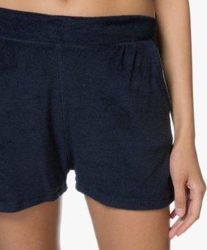 Sort frotté shorts Majestic Filatures - E184803