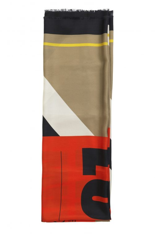 'Doman' silkeskjerf By malene Birger - doman q64819005 (140 cm * 140 cm)