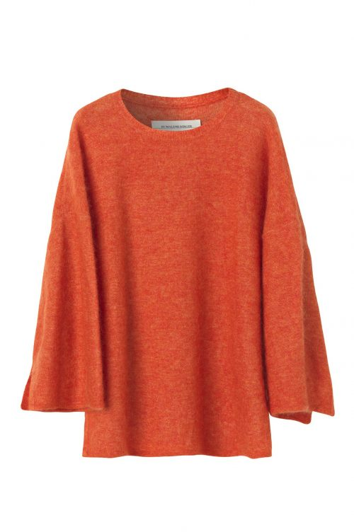 Korall kidmohair 'Riksos' genser By Malene Birger - Q56560102