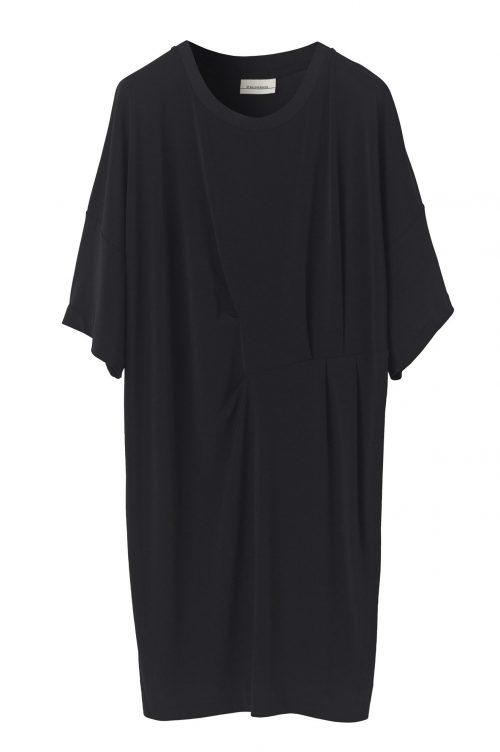 Sort oversized kjole By Malene Birger - hannii q55597126